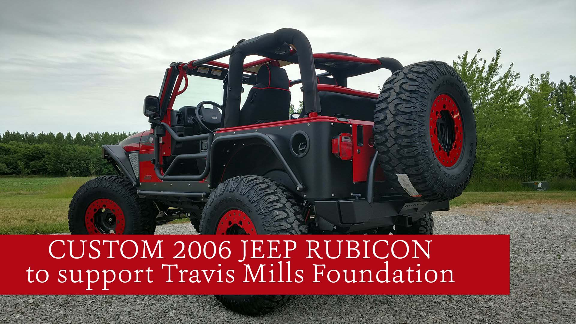 The Jeep Is Outfitted With Great Accessories And All Parts Are BRAND NEW
