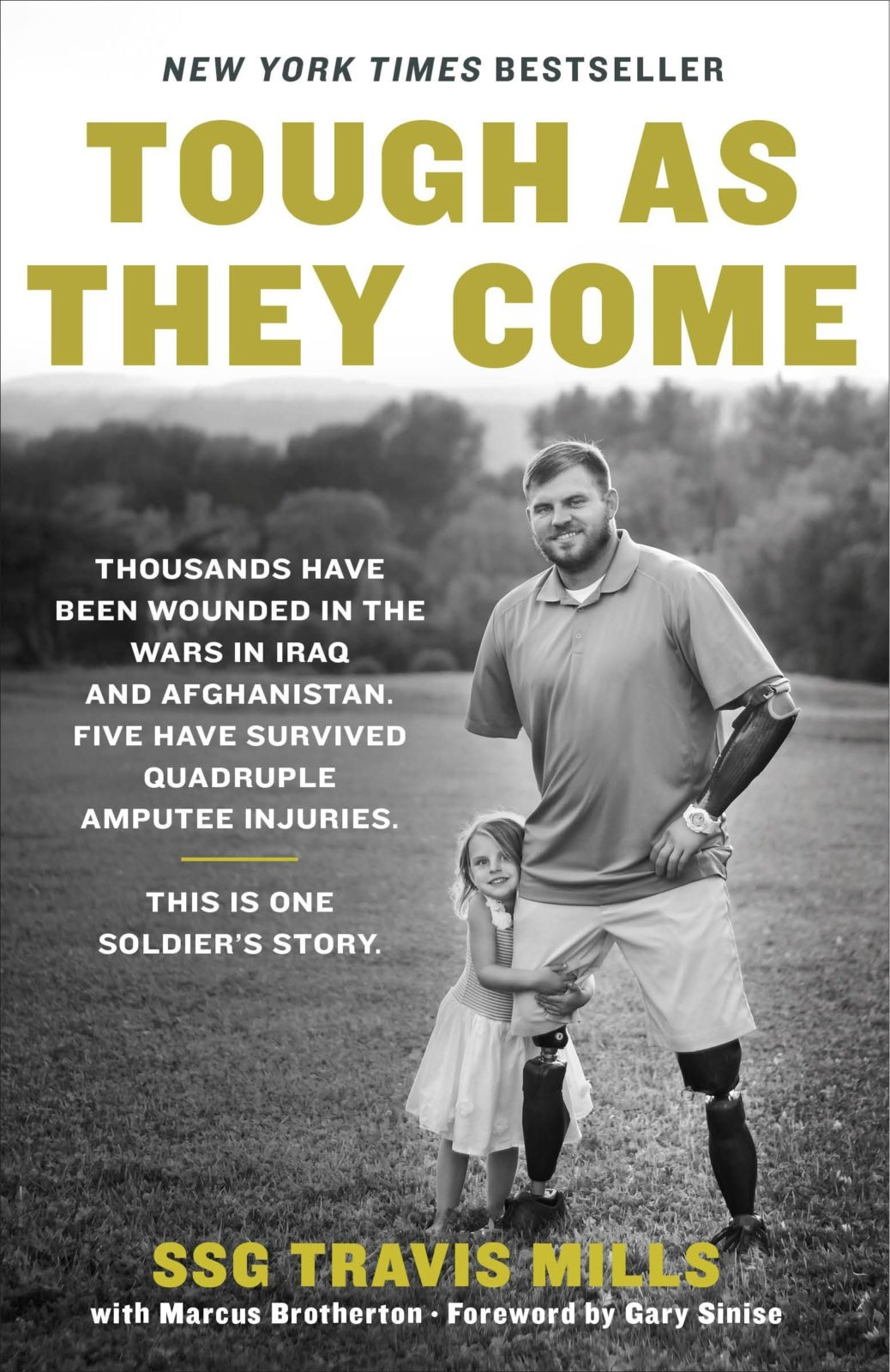 Image of book Tough As They Come a New York Times Best Seller about United States Army Staff Sergeant Travis Mills